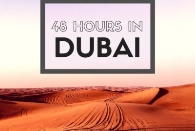 Dubai is an international layover hub. Make the most of your stopover by getting out of the airport to explore. With two days you can sample the local culture and shop til you drop.