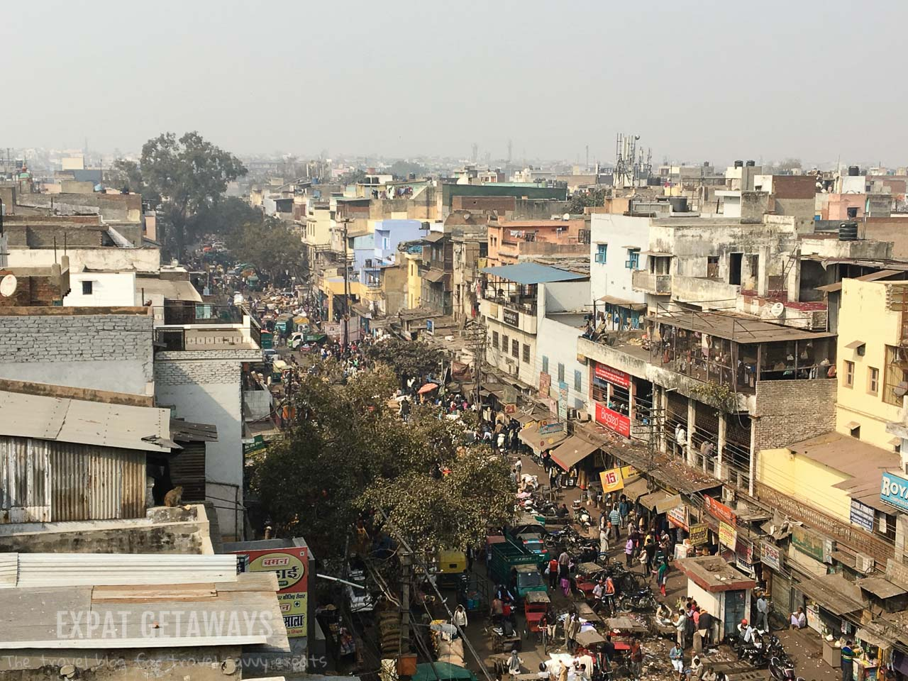 Old Delhi Rooftop India