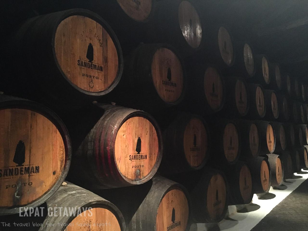 Barrels and barrels of fine port. Who could resist?