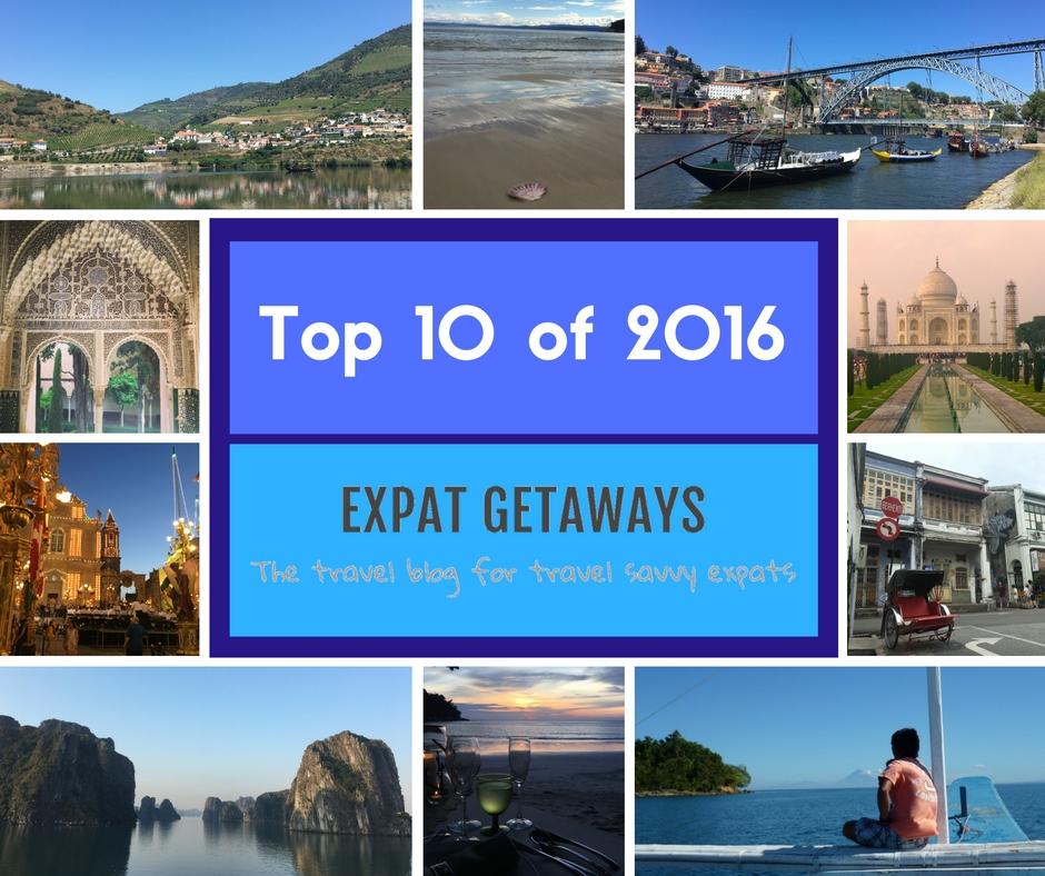 Expat Getaways Top 10 destinations of 2016