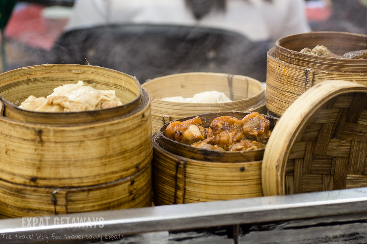 Dim Sum is a classic Cantonese style of eating and popular in Hong Kong.
