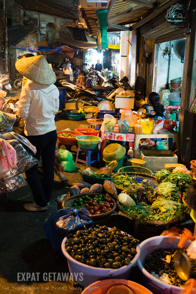 Exploring the streets is part of the fun in Hanoi's Old Quarter.