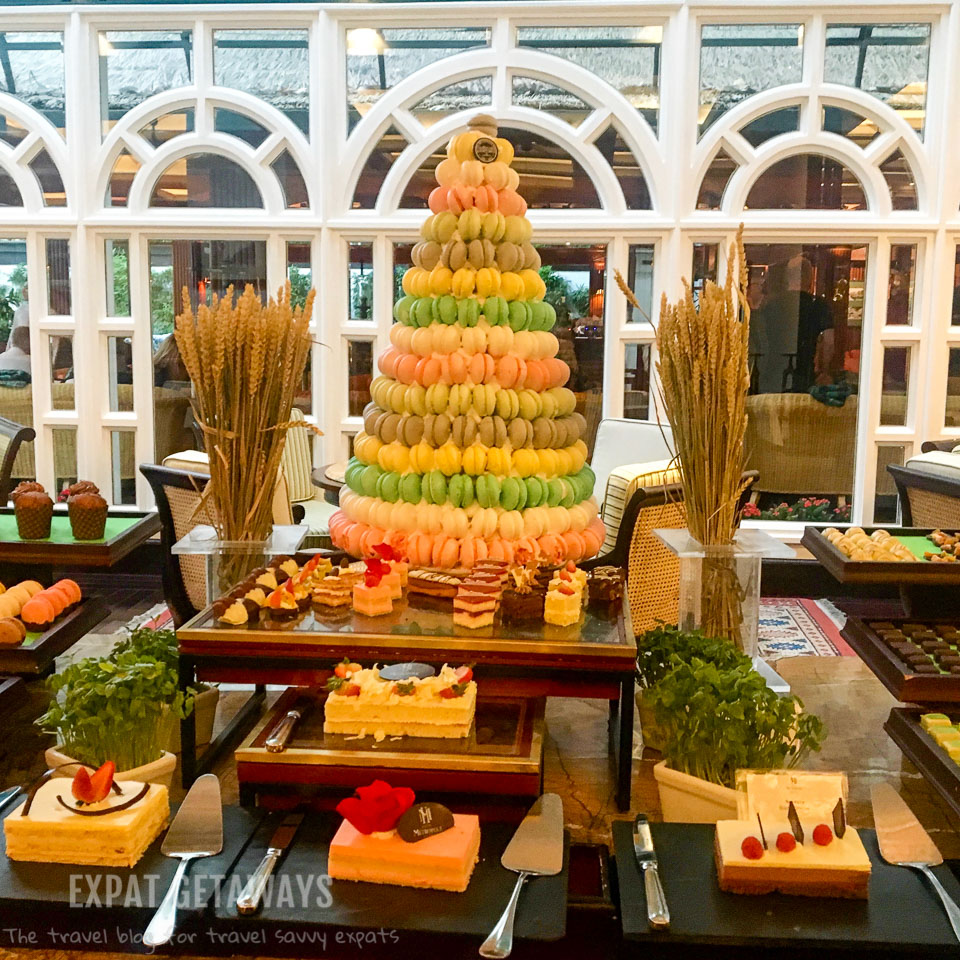 The dessert buffet at the Metropole shouldn't be missed!