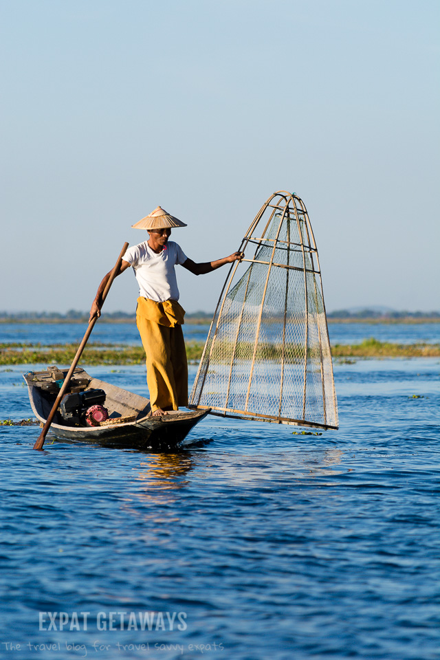 A traditional fisherman on Inle Lake, Myanmar. andrewmizziphotography.com Follow my latest updates on Fb.com/andrewmizziphoto | Instagr.am/and.miz
