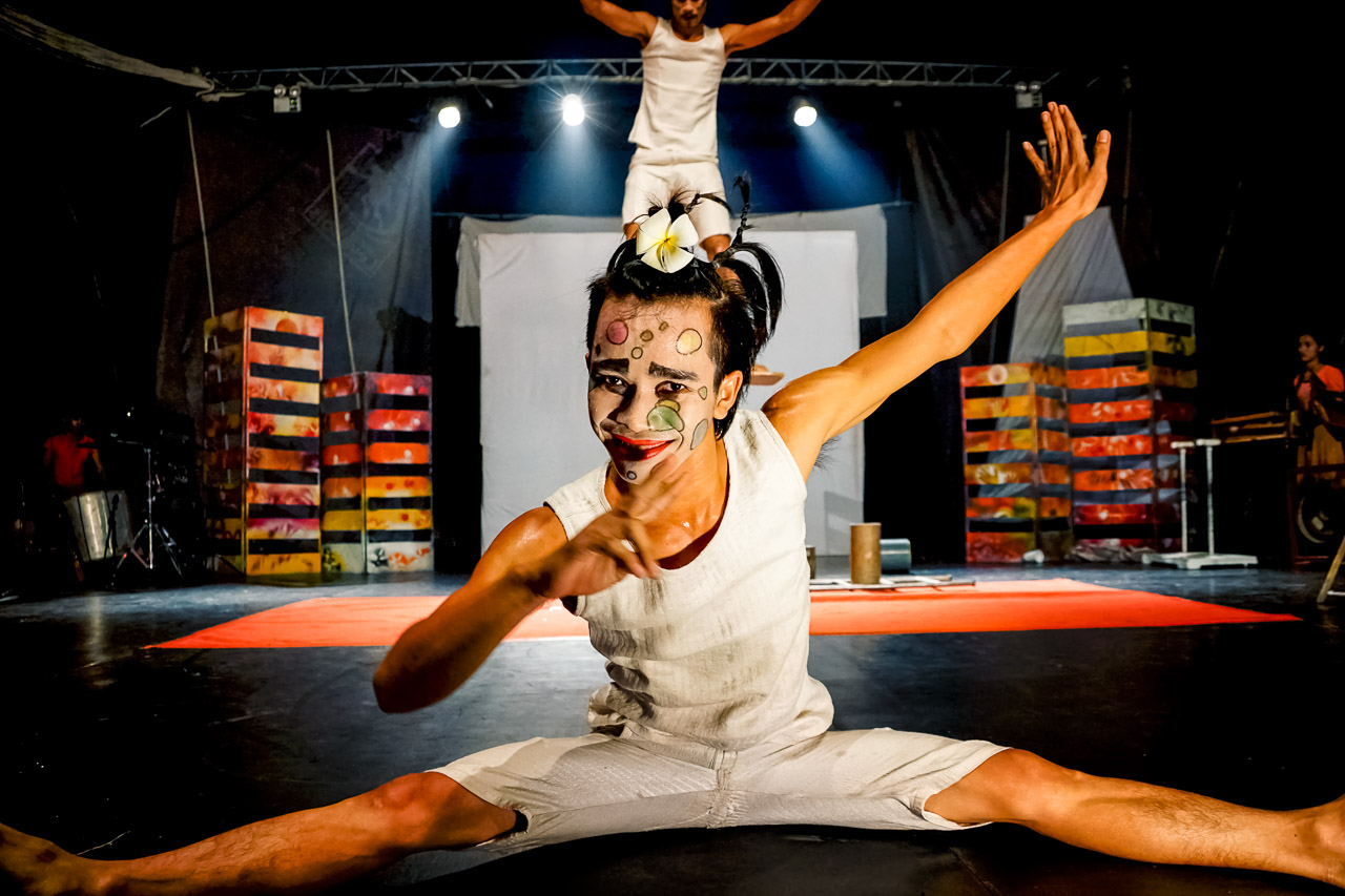 Battambang, Cambodia has a thriving arts scene.