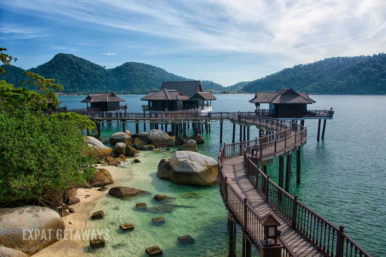 It doesn't get much better than this.. an overwater spa villa at Pangkor Laut Resort, Malaysia.