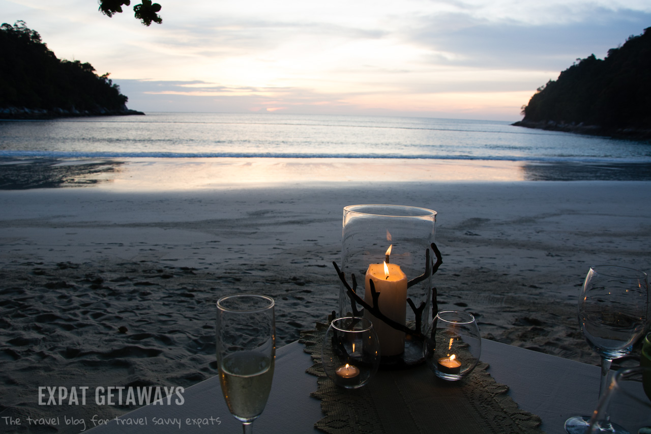 You are never far from a glorious sunset at Pangkor Laut Resort, Malaysia.