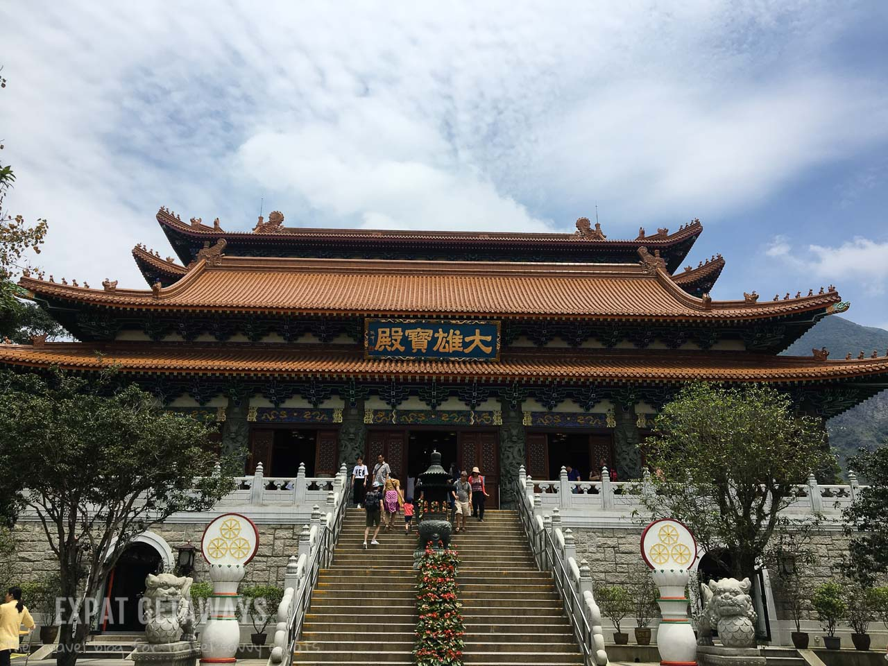Next to the Big Buddha you will find the spectacular Po Lin Monastery. A great day trip while you are in Hong Kong.