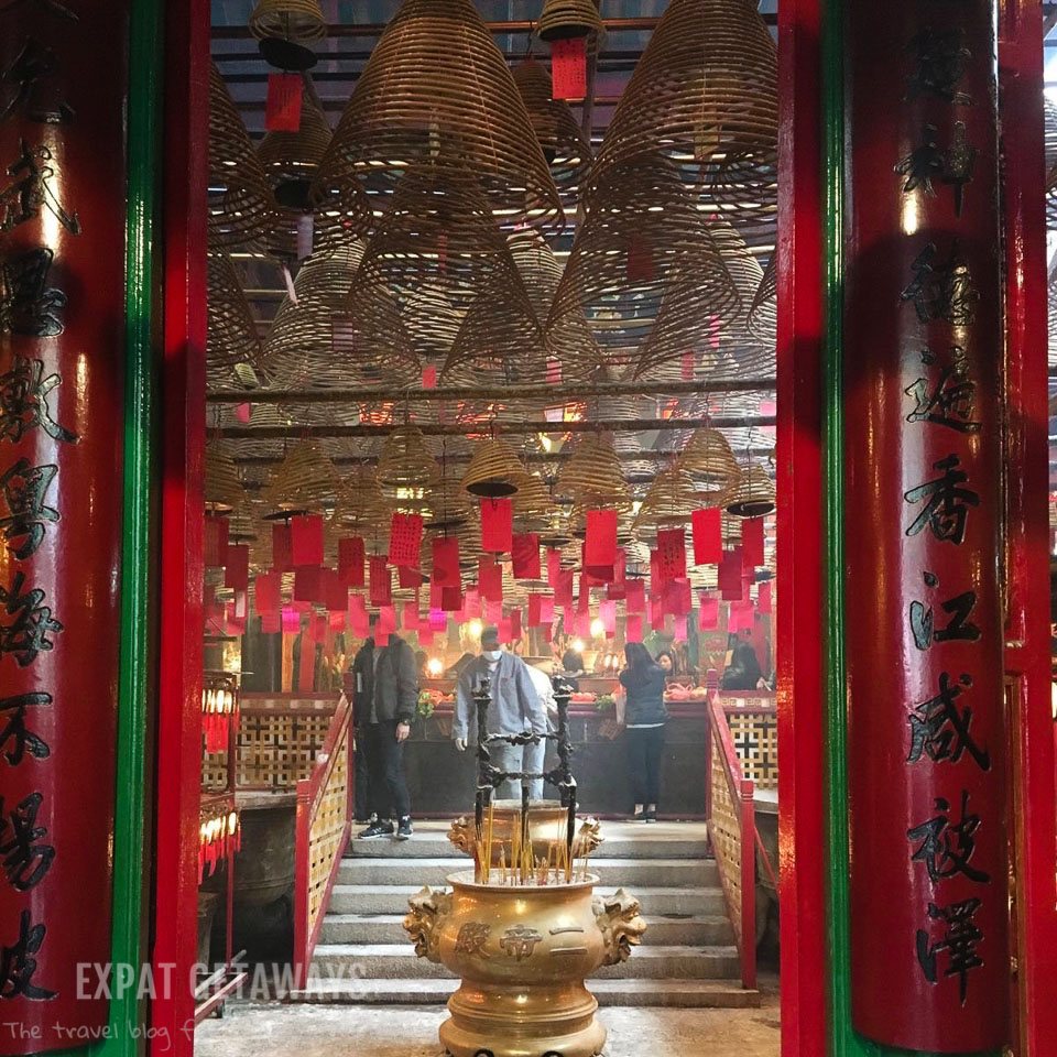 Man Mo Temple on Hollywood Road in Sheung Wan is probably the most visited temple in Hong Kong. Expat Getaways, First Time Hong Kong Survival Guide - accommodation.