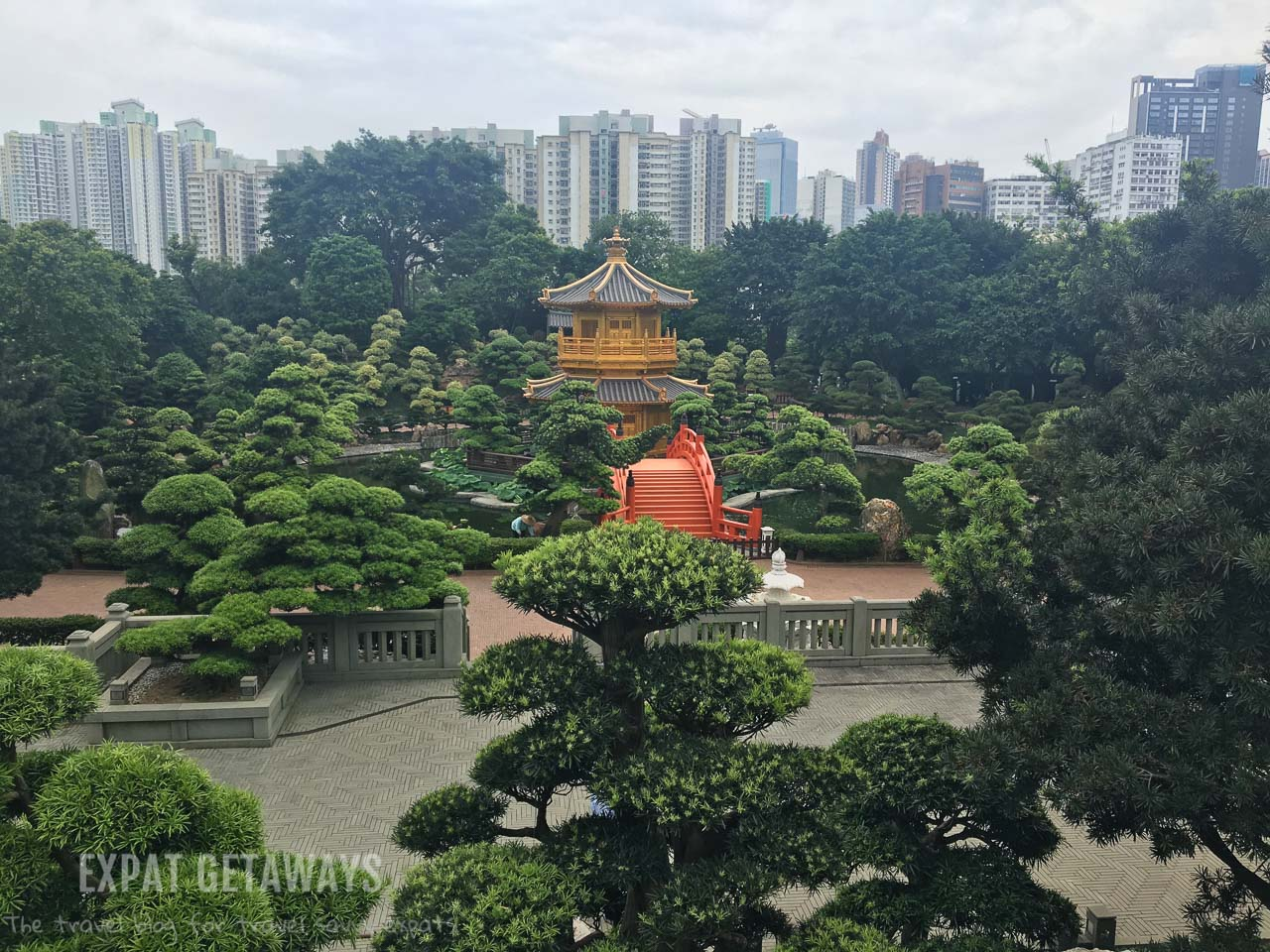 The Nan Lian Gardens and Chi Lin Nunnery are a tranquil oasis in bustling Hong Kong.