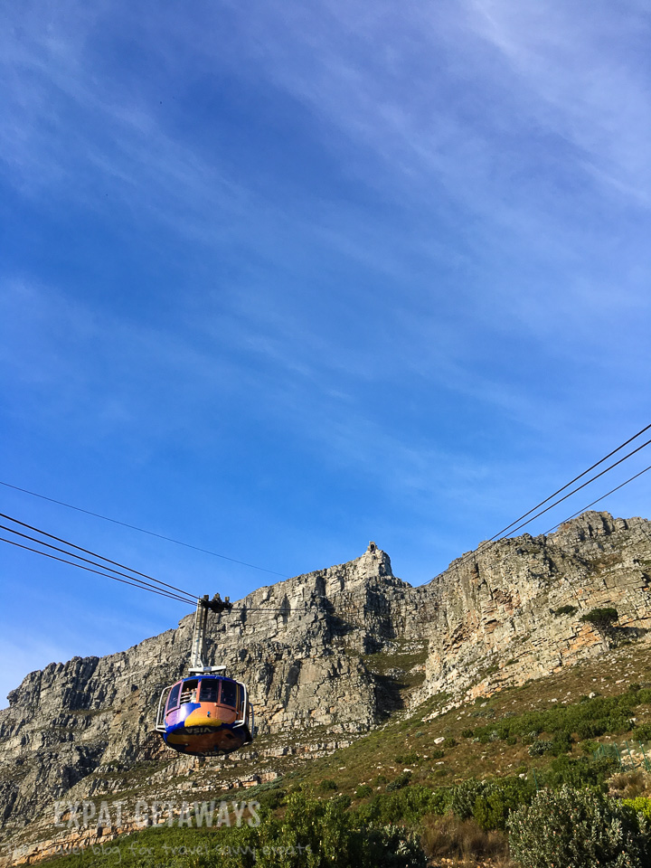 On a clear day in Cape Town you need to take yourself straight to the Table Mountain Cable Way. Expat Getaways One Week in Cape Town.