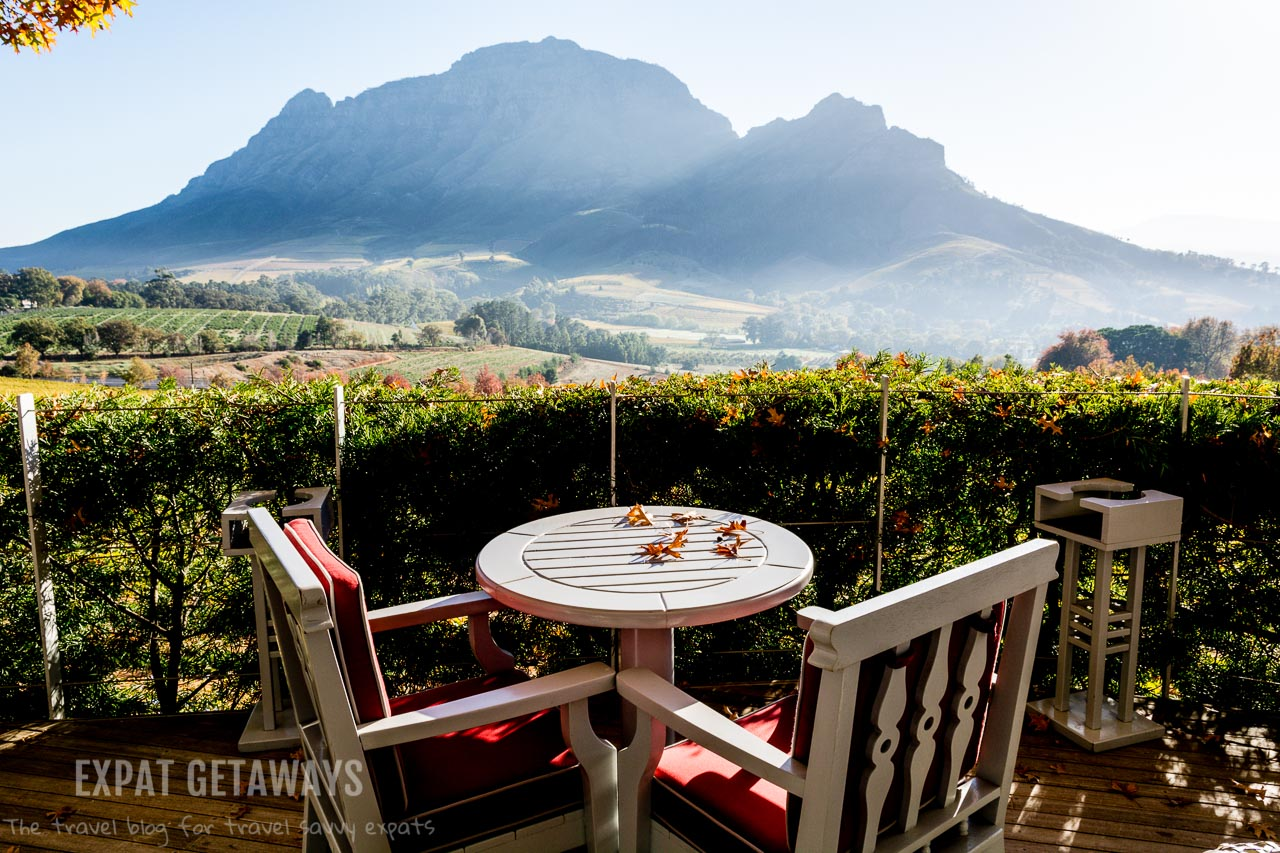Wine regions are notoriously scenic and Stellenbosch, Franschoek and the Constantia Valley outside of Cape Town are no different. Expat Getaways One Week in Cape Town, South Africa.