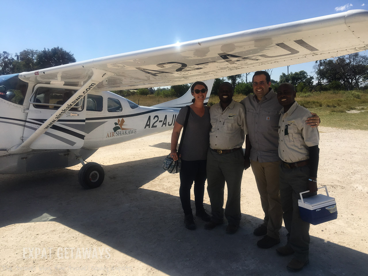 What a welcome to Gunn's Camp, Botswana! The only way in is by light aircraft and that means you kick off your stay with a scenic flight over the Okavango Delta. Expat Getaways 2 Weeks in Southern Africa.