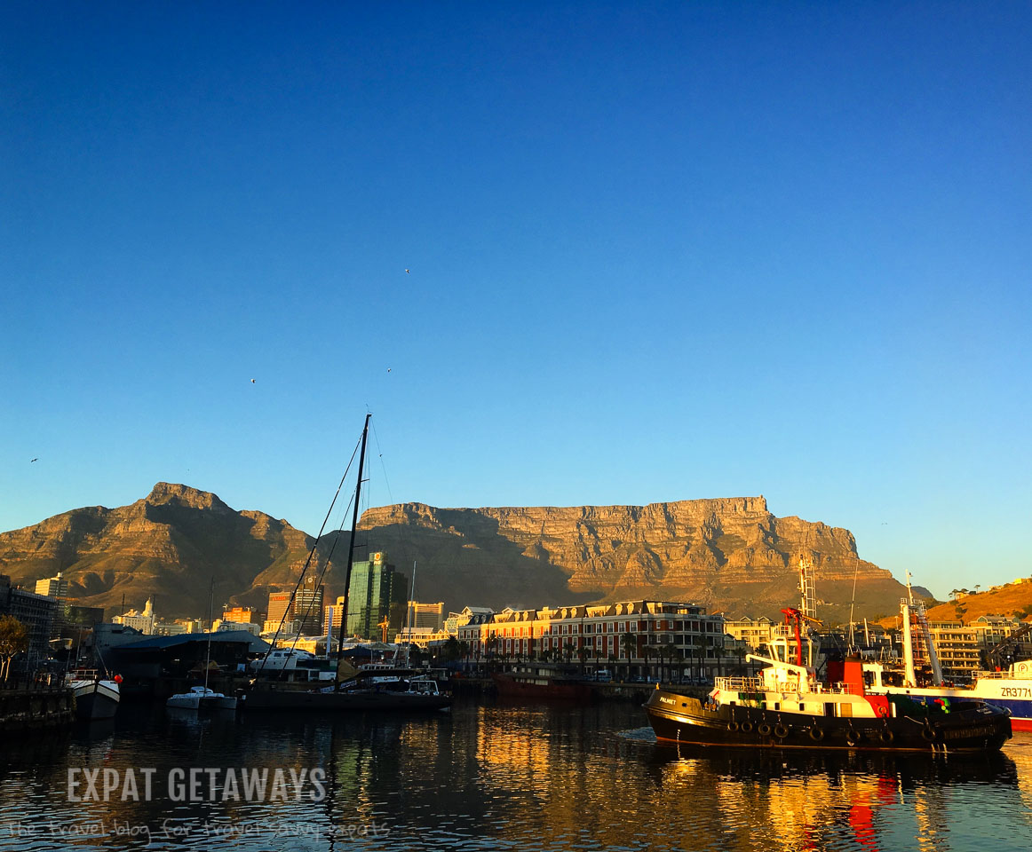 No visit to Cape Town is complete without a stroll along the V and A Waterfront. You get some great views of Table Mountain while you are here. Expat Getaways One Week in Cape Town.