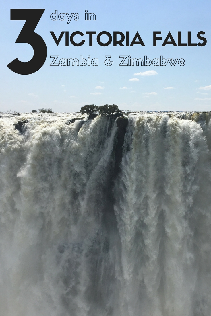 The best 3 day Victoria Falls itinerary from Expat Getaways. All the tips to make your trip to Victoria Falls a success. Should you stay on the Zambia or Zimbabwe side? Should you take a helicopter flight? All that and more in 3 days in Victoria Falls, Zambia and Zimbabwe.
