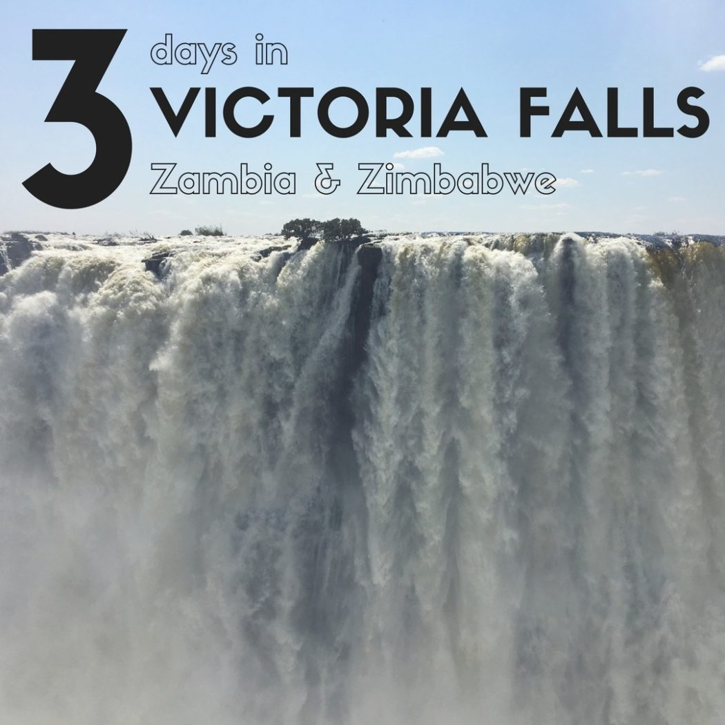 The best Victoria Falls itinerary from Expat Getaways. All the tips to make your trip to Victoria Falls a success. Should you stay on the Zambia or Zimbabwe side? Should you take a helicopter flight? All that and more.