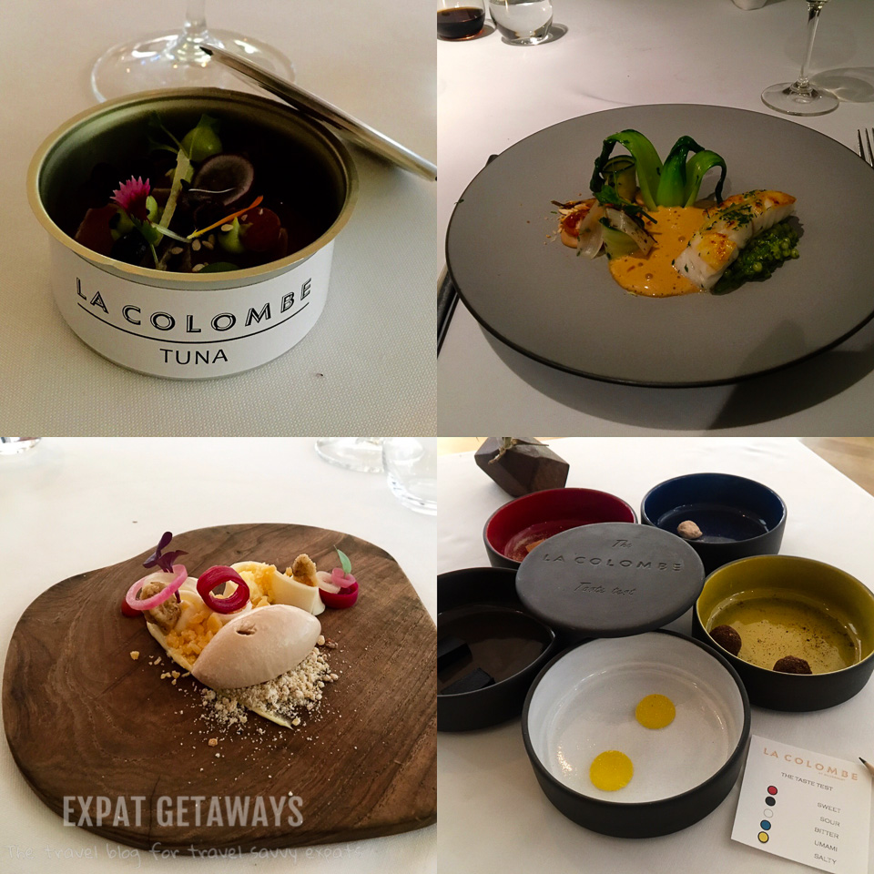 One of the best fine dining experiences of my life! The amazing food and wine pairing at La Colombe, Constantia Valley, Cape Town. Expat Getaways One Week in Cape Town, South Africa.
