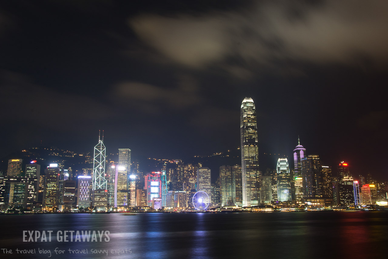 You can't beat the view of the Hong Kong skyline from Tsim Sha Tsui. Expat Getaways, First Time Hong Kong Survival Guide - accommodation.