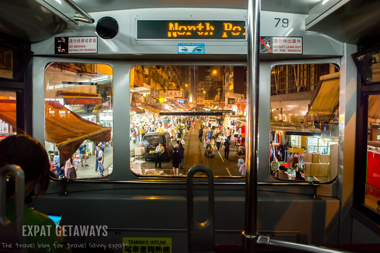 One of the earliest forms of transport in Hong Kong, the 'ding ding' tram still manages to weave its way through the sprawling metropolis in Hong Kong. Expat Getaways First Time Hong Kong Survival Guide - Public Transport.