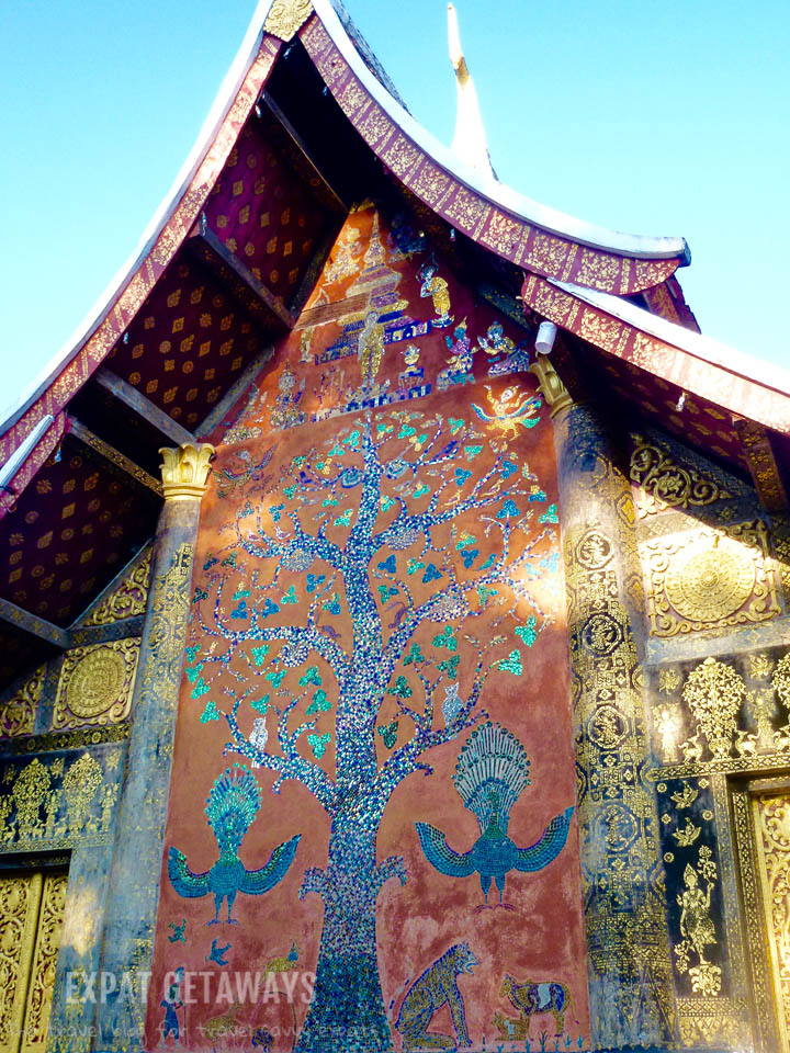 One of the many temples in Luang Prabang, Laos.