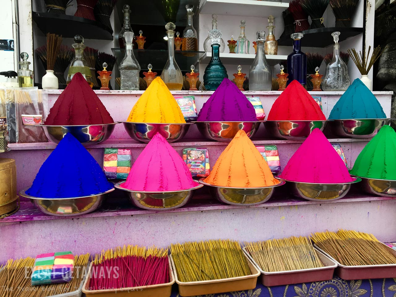 A stroll through Jew town in Fort Kochi will take you past all sorts of colourful shops. Expat Getaways - One Week in Kerala, India.