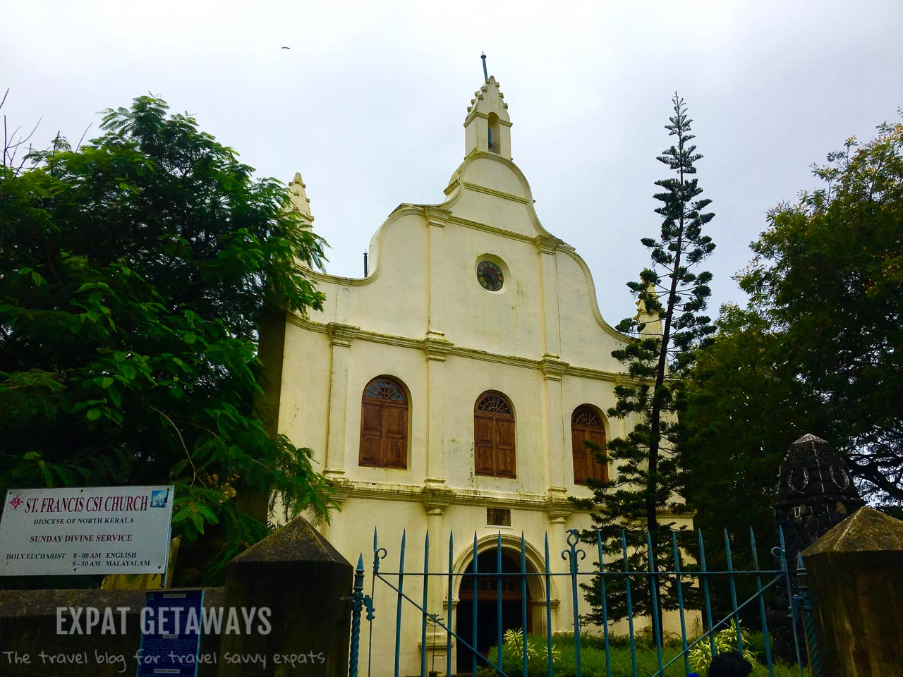 The St Francis Church was built by the Portuguese in 1503. Expat Getaways - One Week in Kerala, India.