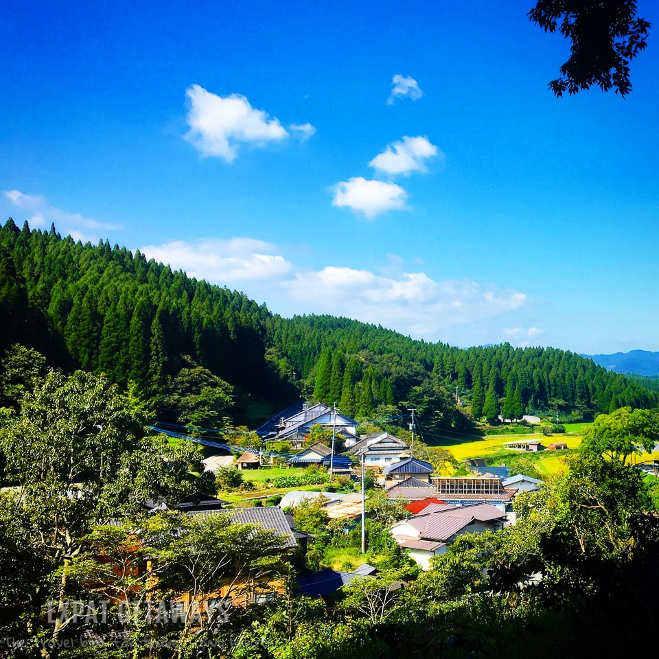 Picture perfect Japanese villages in Kyushu. Expat Getaways - Babymoon Destinations.