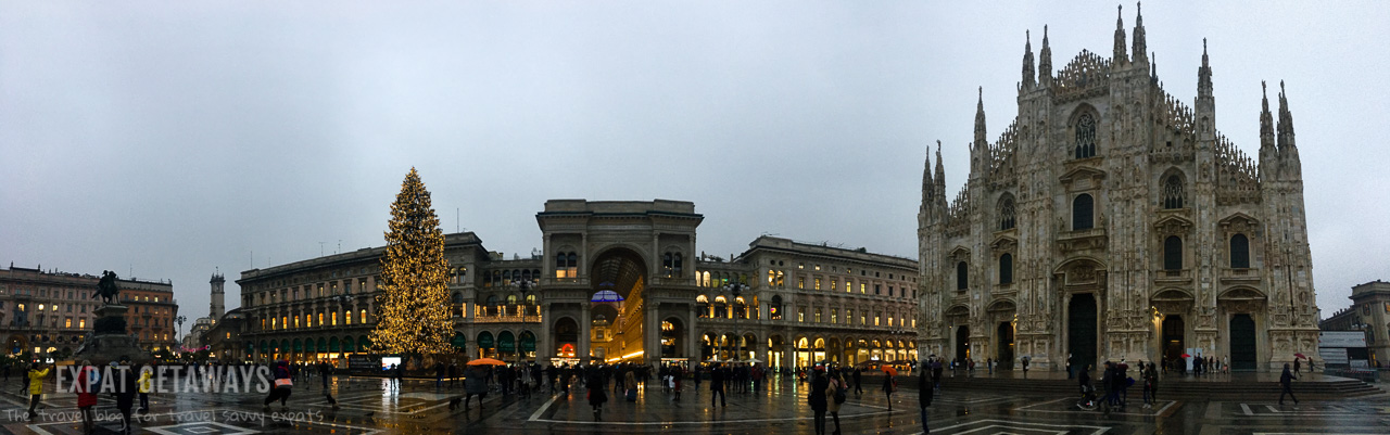 It was cold and wet but that didn't stop us enjoying Milan at christmas time. Expat Getaways - Babymoon Destinations.