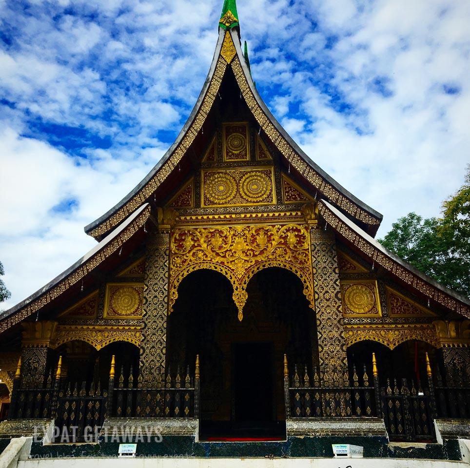 Wat Xieng Thong. Luang Prabang, Laos. Expat Getaways, 48 Hours in Luang Prabang, Laos.